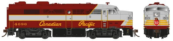 Rapido Ho Scale FPA-2 Canadian Pacific (Script Letterin