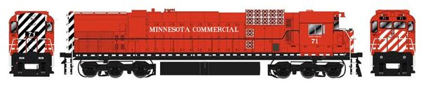 Bowser HO Scale Minnesota Commercial M636 DCC Ready W/Ditchlights