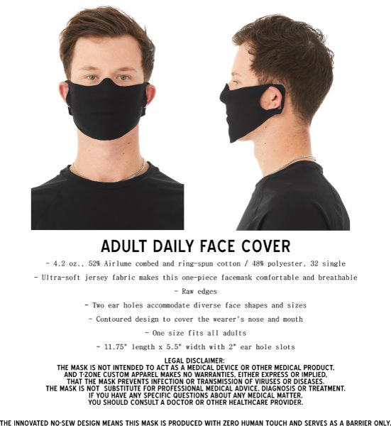 FACEMASK GUARD 2020 (pack of 25)
