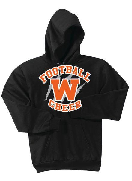 Young Tiger Football Hooded Sweatshirt