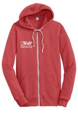 Tri-Blend signature zip hoodie by Alternitive