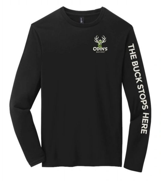 """Odin's """"The Buck Stops Here"""" Long Sleeve Tshirt"""