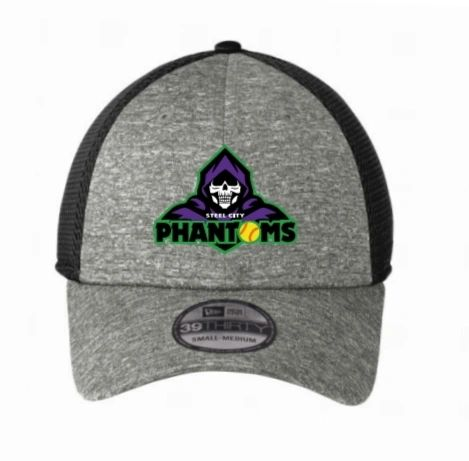 Steel City Phantoms New Era Shadow Fitted Hats