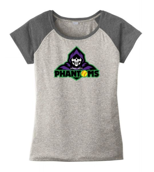 Steel City Phantoms Ladies Heather Contender Tshirt