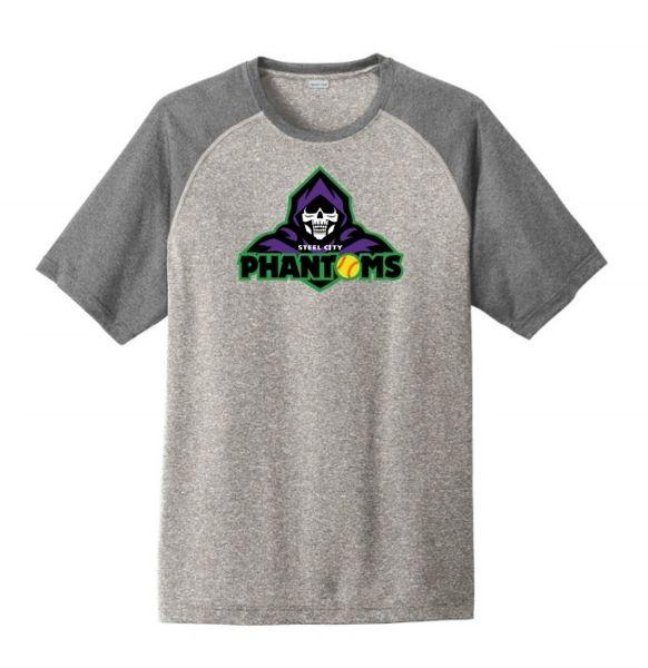 Steel City Phantoms Mens Heather Contender Tshirt