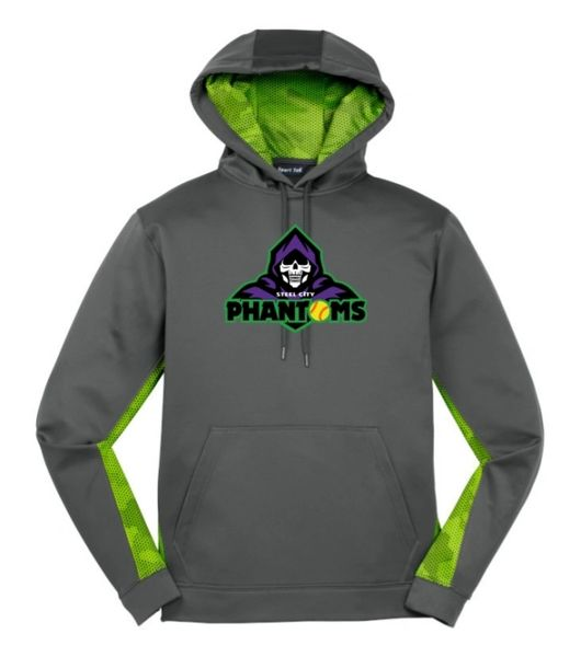 Steel City Phantoms Camohex Colorblock Hoodie