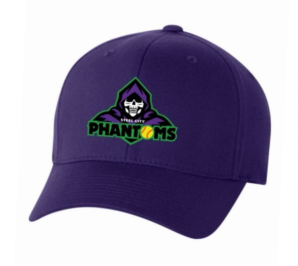 Steel City Phantoms Full Fabric Flexfit Hat