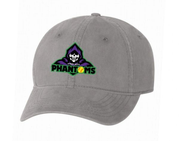 Steel City Phantoms Adjustable Relaxed Hat