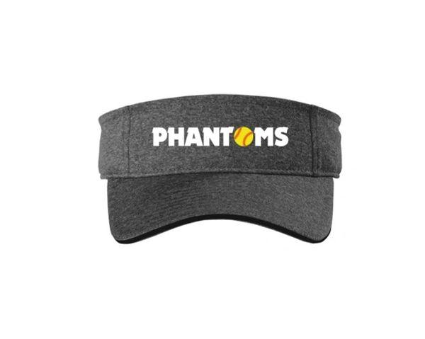 Steel City Phantoms Contender Visor