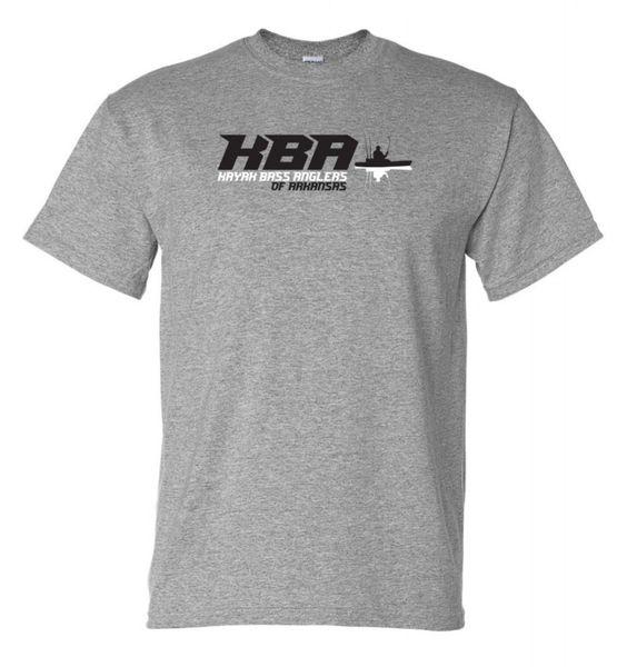 KBA of Arkansas Text Logo Tshirt