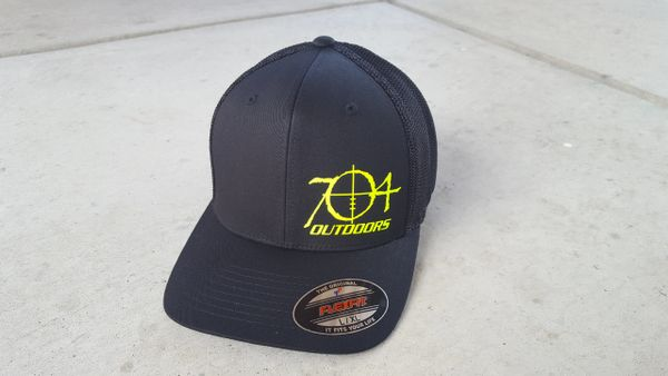 704 Outdoors Flexfit Mesh Back Hat