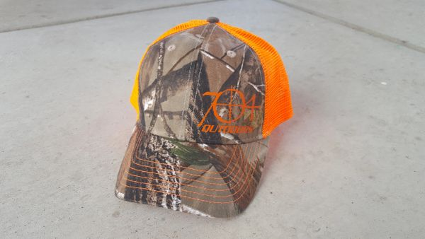 704 Outdoors Realtree Camo Mesh Back Hat