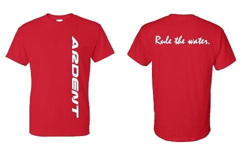Ardent Vertical Text Tshirt