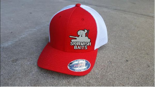 Skirmish Baits Flexfit Mesh Back Hat