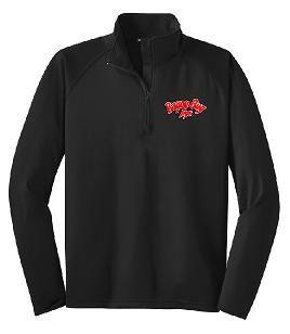 Bayou Bug Jigs 1/4 Zip Sport Wick Stretch Pullover