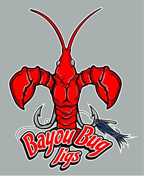 Bayou Bug Jigs Full Logo Decals