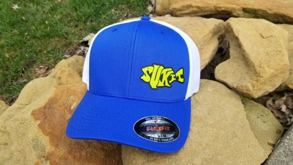 Sukit Lures Flexfit Mesh Back Hat