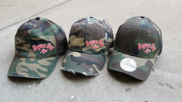 Bayou Bug Jigs Camo Hat