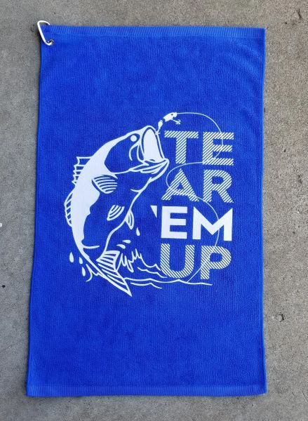 Tear 'Em Up Microfiber Towel