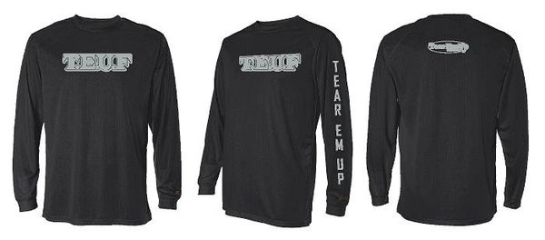 Tear 'Em Up Fishing Long Sleeve Performance Shirts