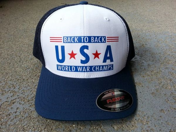 USA World War Champs Hat
