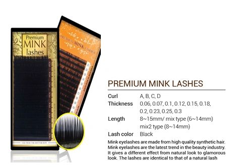 Mink Lashes 0.2T