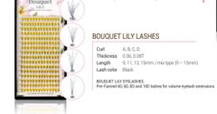 Bouquet Lily 4D lashes