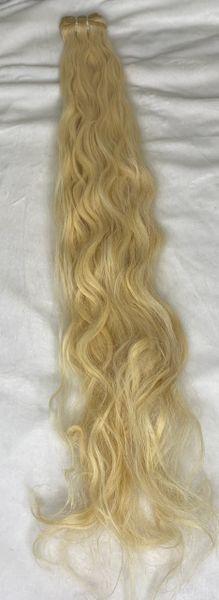 Blonde wavy remy hair