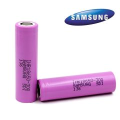 SAMSUNG 30Q INR 18650 RECHARGEABLE VAPE BATTERY (3000MAH 20A)