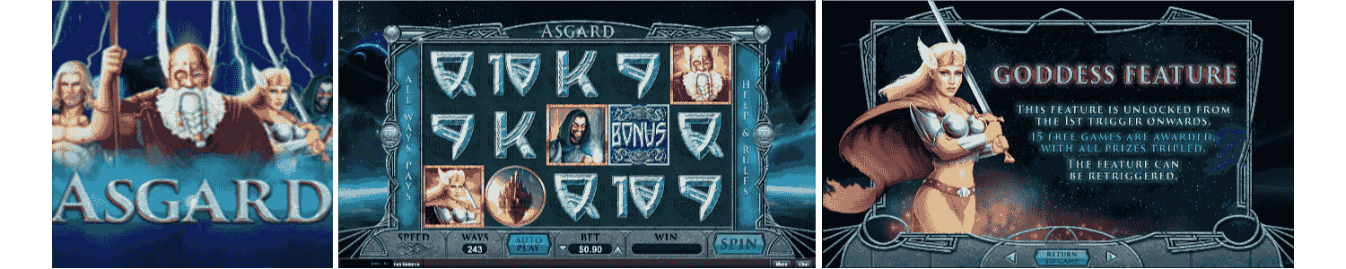 Asgard Video Slots Review