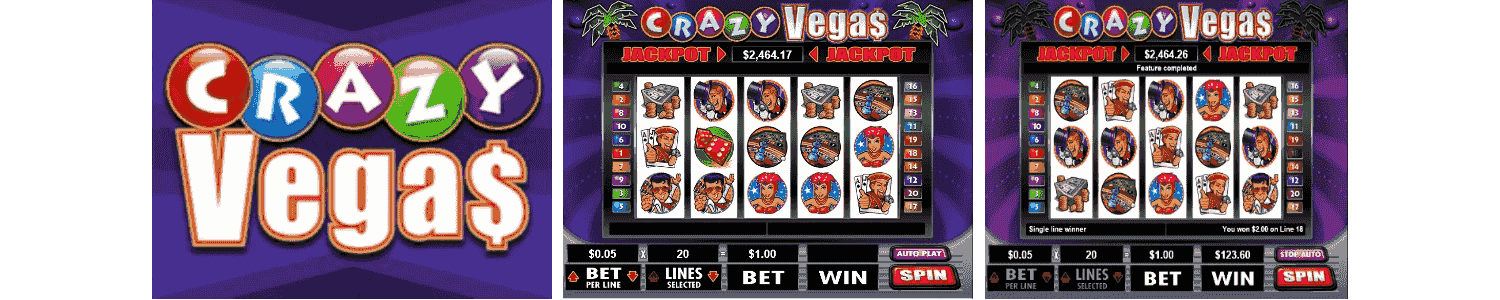 Crazy Vegas Video Slots Review