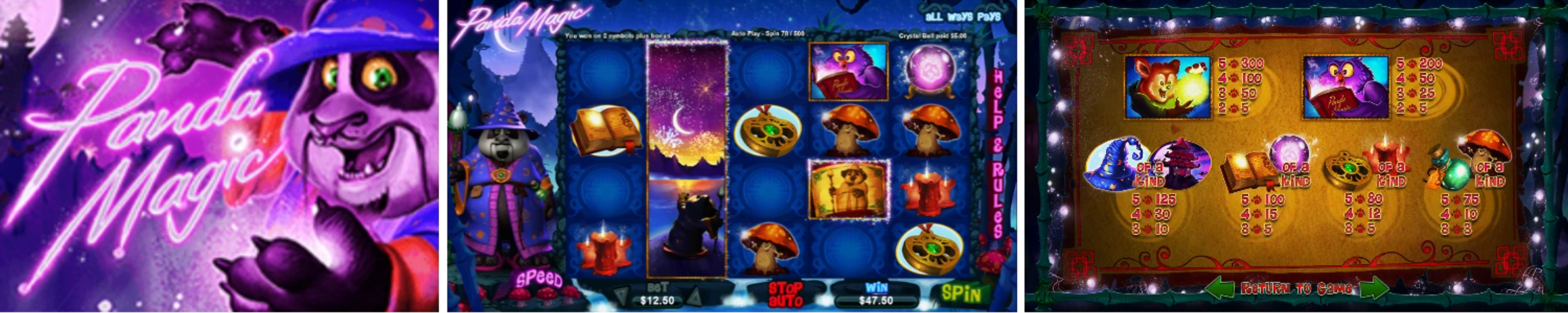 Panda Magic Video Slots review