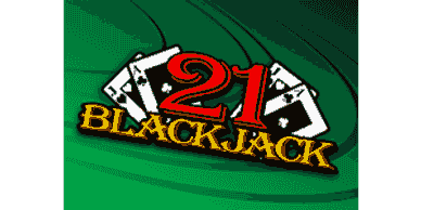 Blackjack 21 at Sun Palace Casino - home page featured table games section with $20 free chip