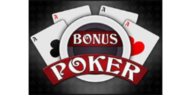 Featured Online Video Poker section Bonus Poker with $50 video poker free chip