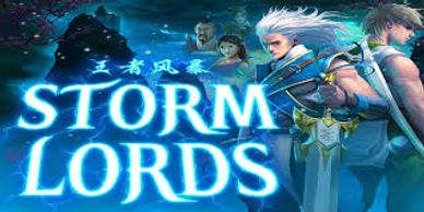 Featured video slots section Storm Lords online video slot free spins at Slotocash online Casino