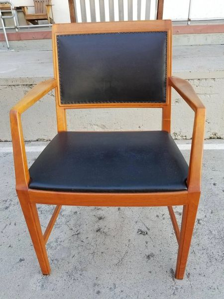 Bertil Fridhaghen Teak Dining Chairs Set Of Eight Janakos Amp Company