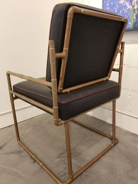 Incredible Artisan Copper Lounge Chair Janakos Company Andrewgaddart Wooden Chair Designs For Living Room Andrewgaddartcom