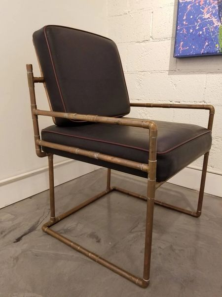 Awesome Artisan Copper Lounge Chair Janakos Company Andrewgaddart Wooden Chair Designs For Living Room Andrewgaddartcom