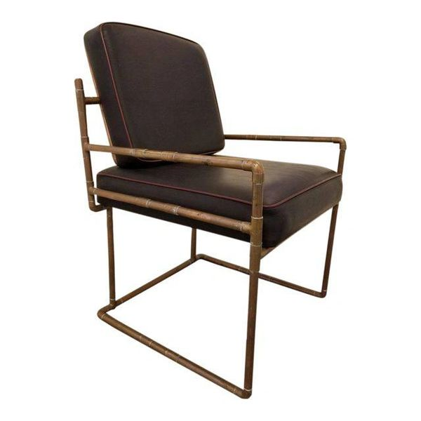 Pleasant Artisan Copper Lounge Chair Janakos Company Andrewgaddart Wooden Chair Designs For Living Room Andrewgaddartcom