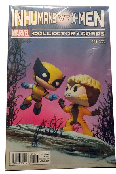 X-Men Marvel Graphic Novel Comic Book Inhumans Vs