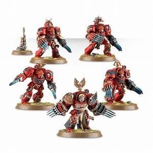 Blood Angels Terminator Assault Squad Thunder Hammer x 5 G2464