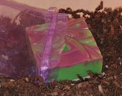 Cannabis Flower Soap Bar