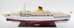 "SS Galileo Galilei Italian Line Ocean Liner Model 34"""