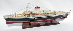 """SS Cristoforo Colombo Italian Line Ocean Liner Model 33"""""""