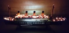 """RMS TITANIC OCEAN LINER WITH LIGHTS 40"""""""