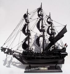 "Black Pearl Caribbean Pirate Tall Ship 20"""