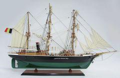 "BELGICA 29"" Model Ship Built in 1884"
