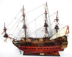 "San Felipe Ship Model by master craftsmen 38"""