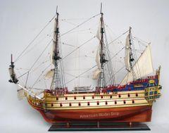 "Secret Of The Unicorn-LA LICORNE Tall Ship Assembled 36"""