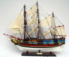 """HMS Bounty Painted Tall Ship Assembled 36"""""""